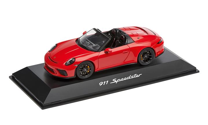 1:43 Model Car | 911 Speedster in Red and Black (991.2)