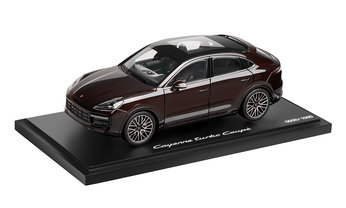 1:18 Model Car | Cayenne Coupé Turbo in Mahogany