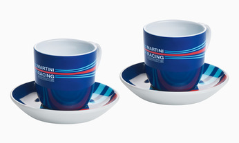 Martini Racing Espresso Cup Set