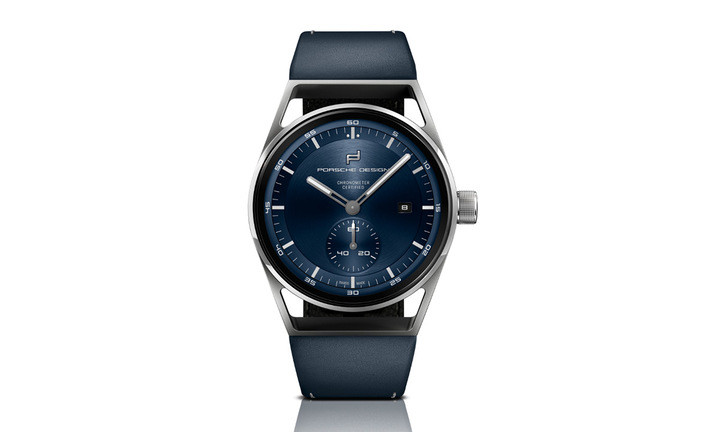 Porsche Design Sport Chronograph, Subsecond, Titanium & Blue