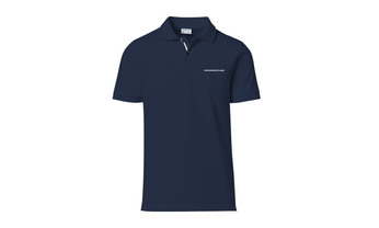 Men's Polo shirt Navy with lettering