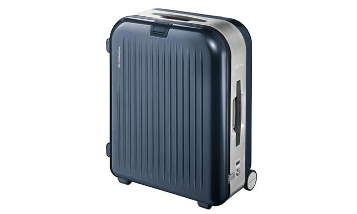 AluFrame L trolley case, basalt black