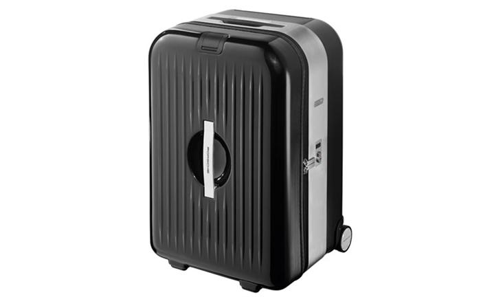 AluFrame XL trolley case, basalt black