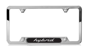 Hybrid Polished Stainless Steel License Plate Frame